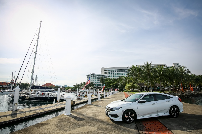 DRIVEN: 2016 Honda Civic 1.5L VTEC Turbo in Sabah – is the latest tenth-generation FC the best Civic ever? Image #546474