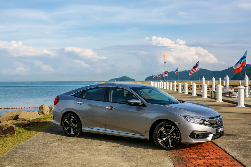 DRIVEN: 2016 Honda Civic 1.5L VTEC Turbo in Sabah – is the latest tenth-generation FC the best Civic ever? Image #546449