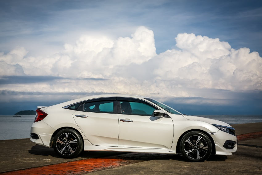 DRIVEN: 2016 Honda Civic 1.5L VTEC Turbo in Sabah – is the latest tenth-generation FC the best Civic ever? Image #546475