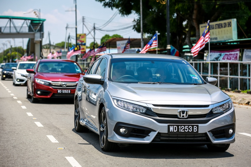 DRIVEN: 2016 Honda Civic 1.5L VTEC Turbo in Sabah – is the latest tenth-generation FC the best Civic ever? Image #546478