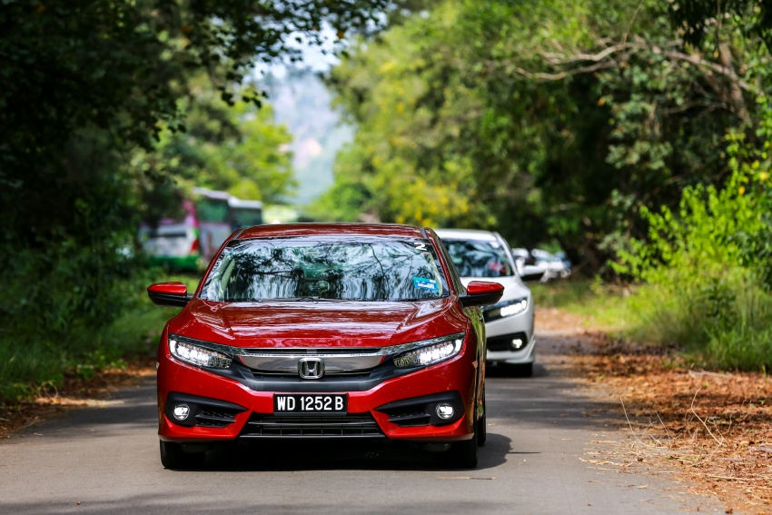 DRIVEN: 2016 Honda Civic 1.5L VTEC Turbo in Sabah – is the latest tenth-generation FC the best Civic ever? Image #546485