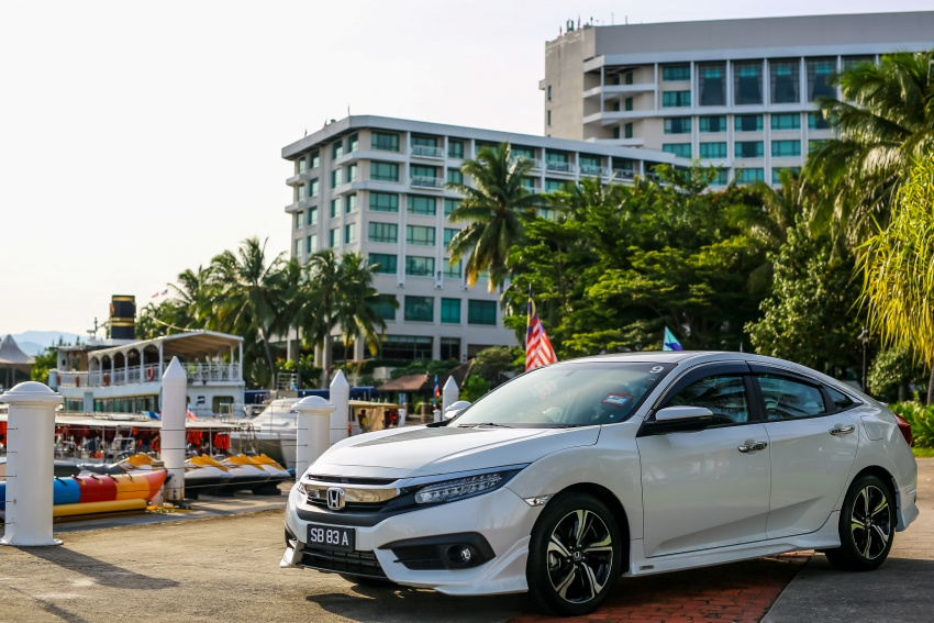 DRIVEN: 2016 Honda Civic 1.5L VTEC Turbo in Sabah – is the latest tenth-generation FC the best Civic ever? Image #546451