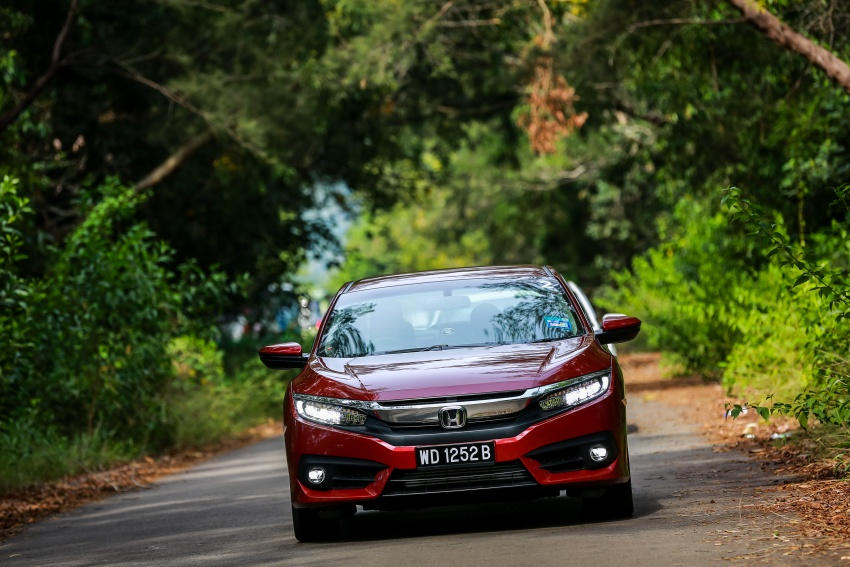 DRIVEN: 2016 Honda Civic 1.5L VTEC Turbo in Sabah – is the latest tenth-generation FC the best Civic ever? Image #546487