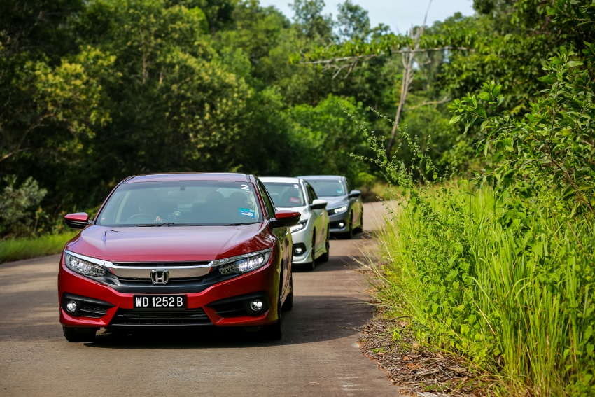 DRIVEN: 2016 Honda Civic 1.5L VTEC Turbo in Sabah – is the latest tenth-generation FC the best Civic ever? Image #546488
