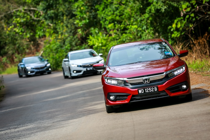 DRIVEN: 2016 Honda Civic 1.5L VTEC Turbo in Sabah – is the latest tenth-generation FC the best Civic ever? Image #546489