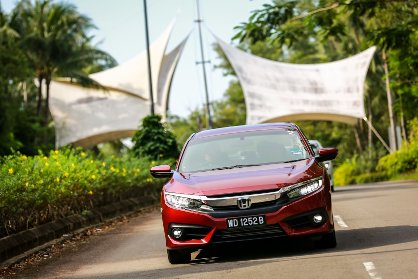 DRIVEN: 2016 Honda Civic 1.5L VTEC Turbo in Sabah – is the latest tenth-generation FC the best Civic ever? Image #546492