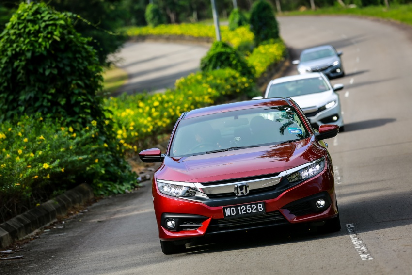 DRIVEN: 2016 Honda Civic 1.5L VTEC Turbo in Sabah – is the latest tenth-generation FC the best Civic ever? Image #546494