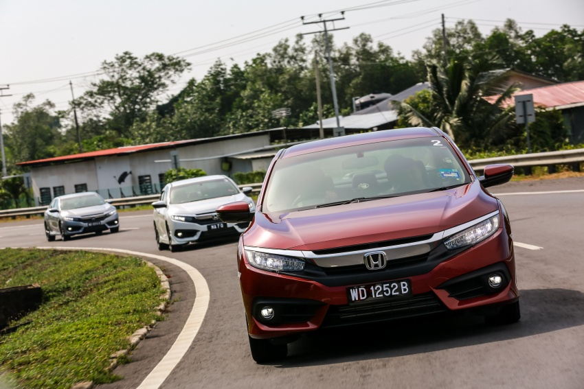 DRIVEN: 2016 Honda Civic 1.5L VTEC Turbo in Sabah – is the latest tenth-generation FC the best Civic ever? Image #546495