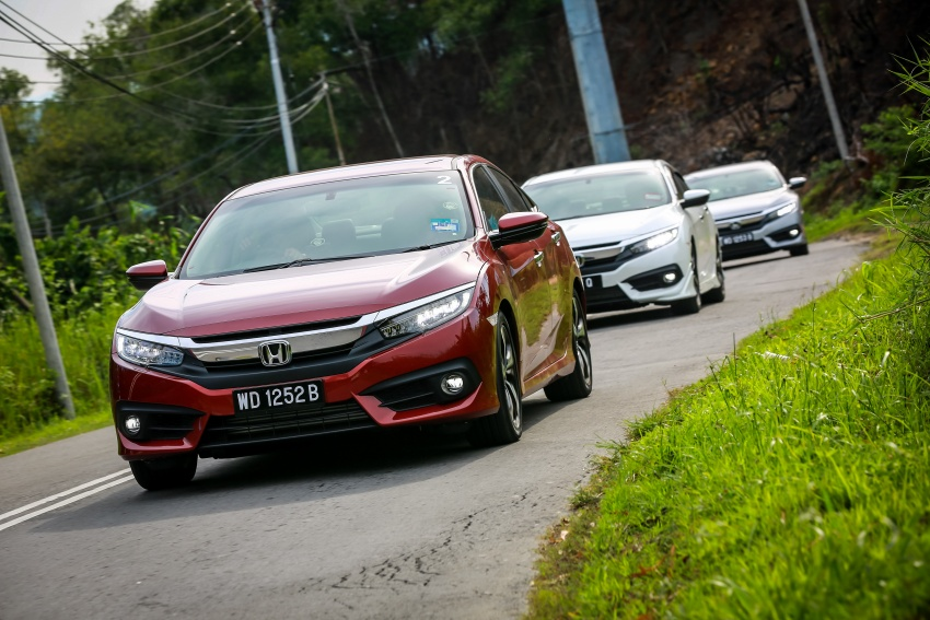 DRIVEN: 2016 Honda Civic 1.5L VTEC Turbo in Sabah – is the latest tenth-generation FC the best Civic ever? Image #546498