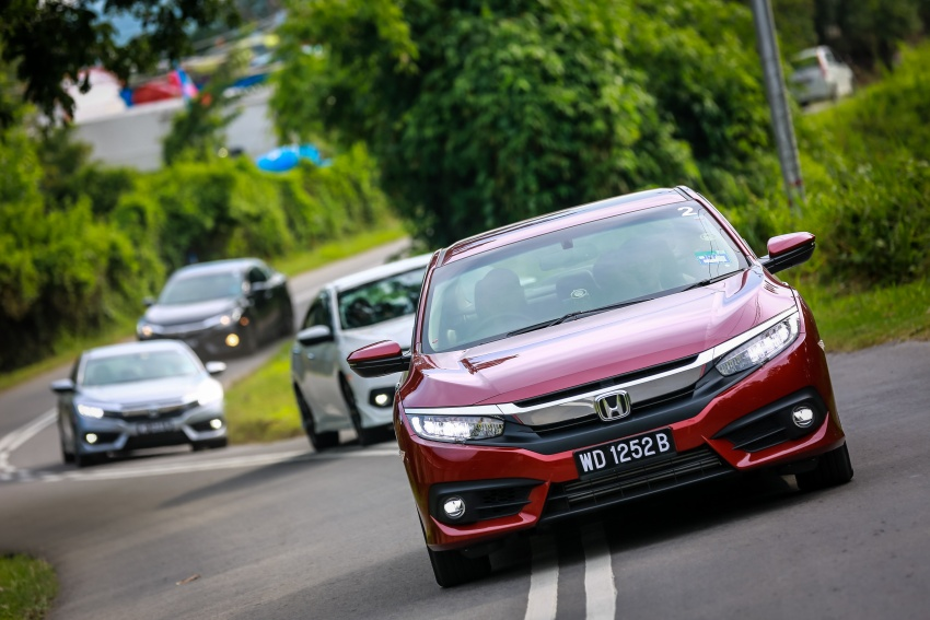 DRIVEN: 2016 Honda Civic 1.5L VTEC Turbo in Sabah – is the latest tenth-generation FC the best Civic ever? Image #546499