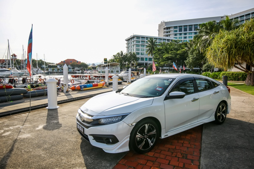 DRIVEN: 2016 Honda Civic 1.5L VTEC Turbo in Sabah – is the latest tenth-generation FC the best Civic ever? Image #546454