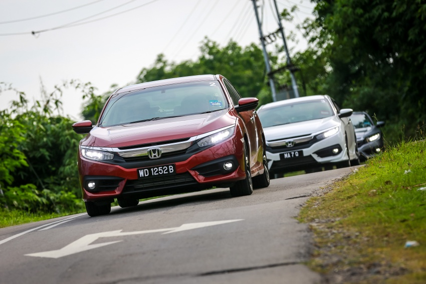 DRIVEN: 2016 Honda Civic 1.5L VTEC Turbo in Sabah – is the latest tenth-generation FC the best Civic ever? Image #546501