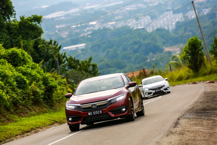 DRIVEN: 2016 Honda Civic 1.5L VTEC Turbo in Sabah – is the latest tenth-generation FC the best Civic ever? Image #546503