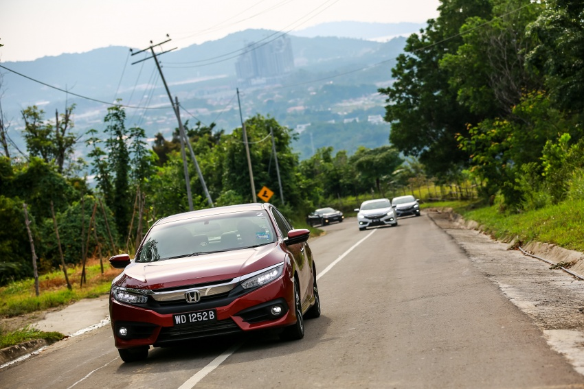 DRIVEN: 2016 Honda Civic 1.5L VTEC Turbo in Sabah – is the latest tenth-generation FC the best Civic ever? Image #546505