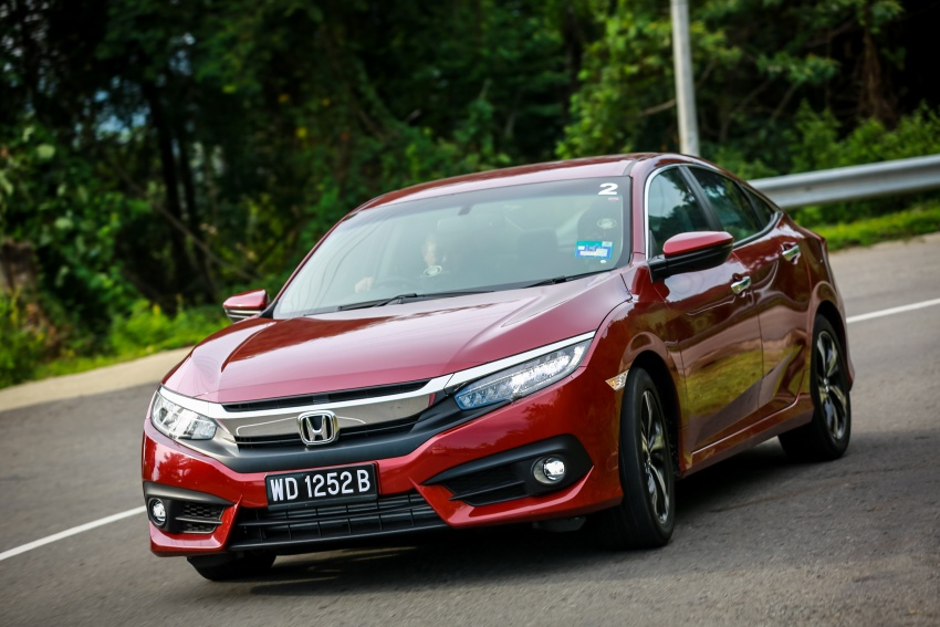 DRIVEN: 2016 Honda Civic 1.5L VTEC Turbo in Sabah – is the latest tenth-generation FC the best Civic ever? Image #546506