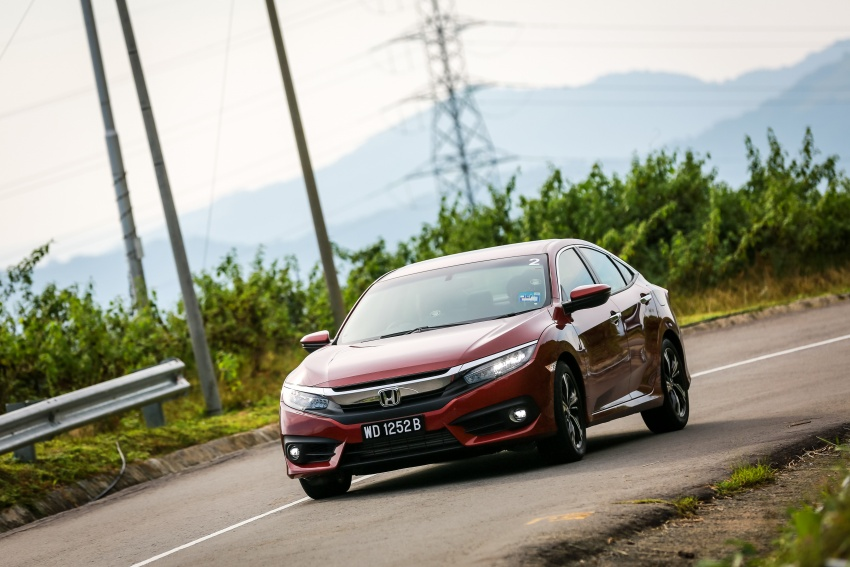 DRIVEN: 2016 Honda Civic 1.5L VTEC Turbo in Sabah – is the latest tenth-generation FC the best Civic ever? Image #546507