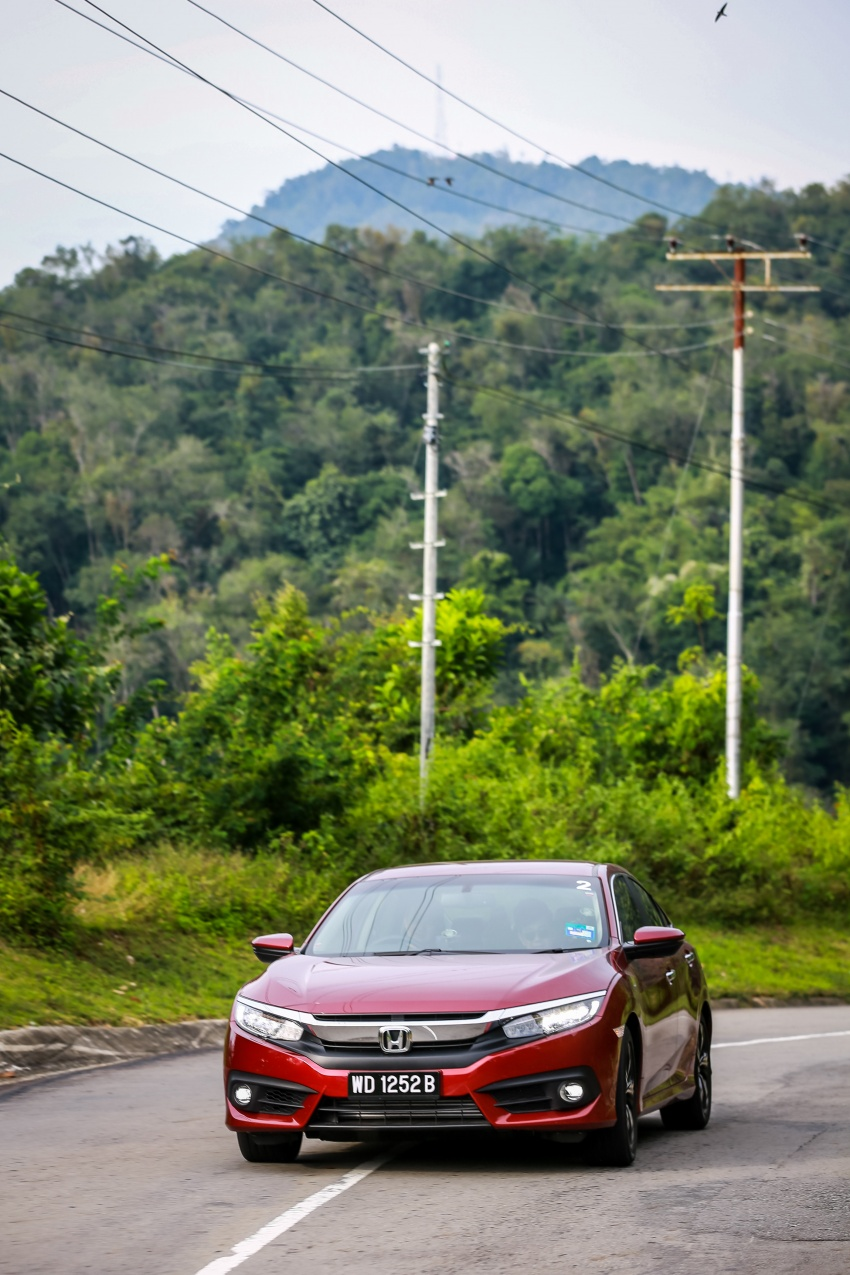 DRIVEN: 2016 Honda Civic 1.5L VTEC Turbo in Sabah – is the latest tenth-generation FC the best Civic ever? Image #546508