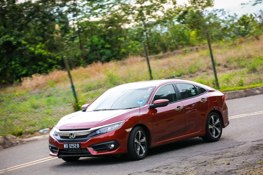 DRIVEN: 2016 Honda Civic 1.5L VTEC Turbo in Sabah – is the latest tenth-generation FC the best Civic ever? Image #546509