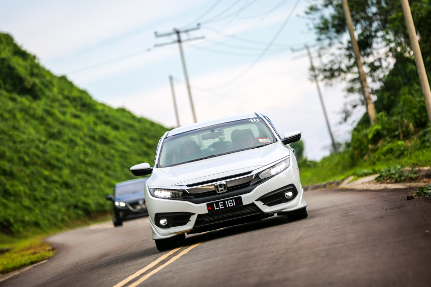 DRIVEN: 2016 Honda Civic 1.5L VTEC Turbo in Sabah – is the latest tenth-generation FC the best Civic ever? Image #546510