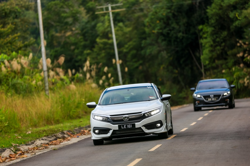DRIVEN: 2016 Honda Civic 1.5L VTEC Turbo in Sabah – is the latest tenth-generation FC the best Civic ever? Image #546511