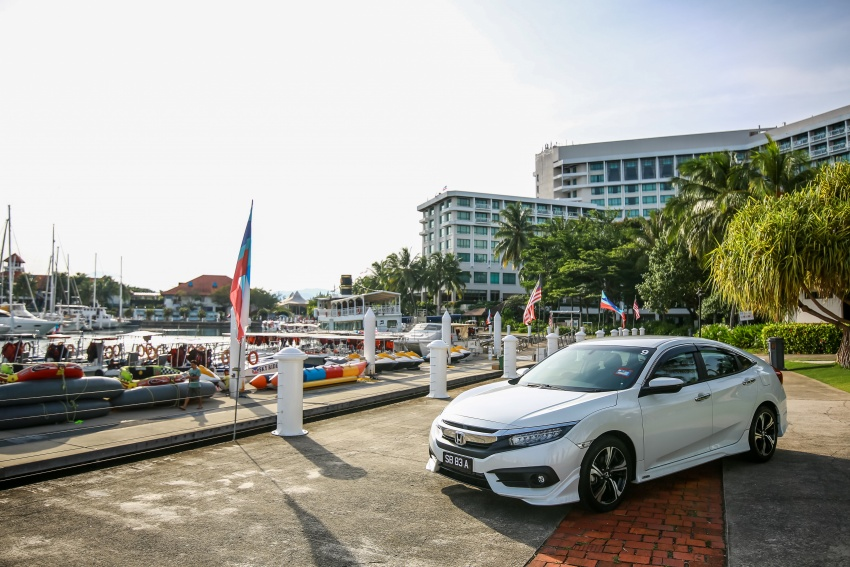 DRIVEN: 2016 Honda Civic 1.5L VTEC Turbo in Sabah – is the latest tenth-generation FC the best Civic ever? Image #546457