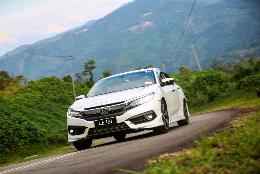 DRIVEN: 2016 Honda Civic 1.5L VTEC Turbo in Sabah – is the latest tenth-generation FC the best Civic ever? Image #546513