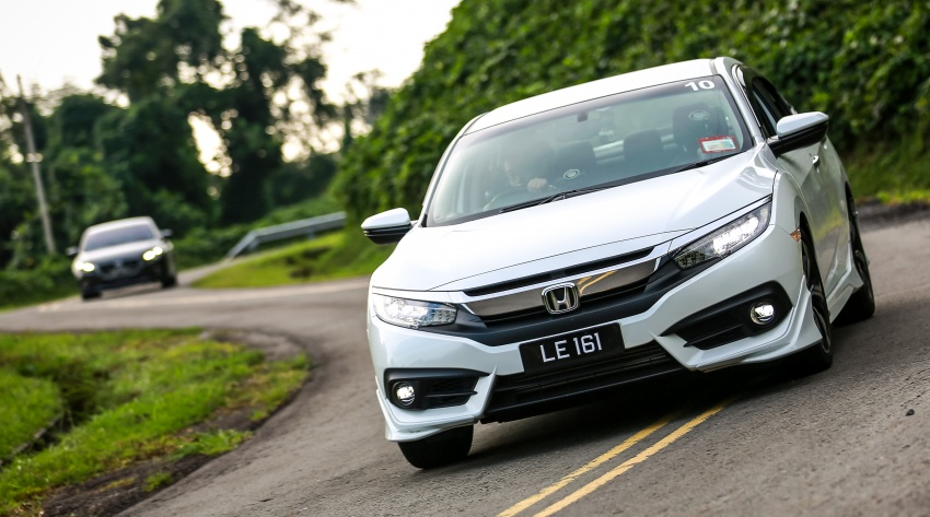 DRIVEN: 2016 Honda Civic 1.5L VTEC Turbo in Sabah – is the latest tenth-generation FC the best Civic ever? Image #546514