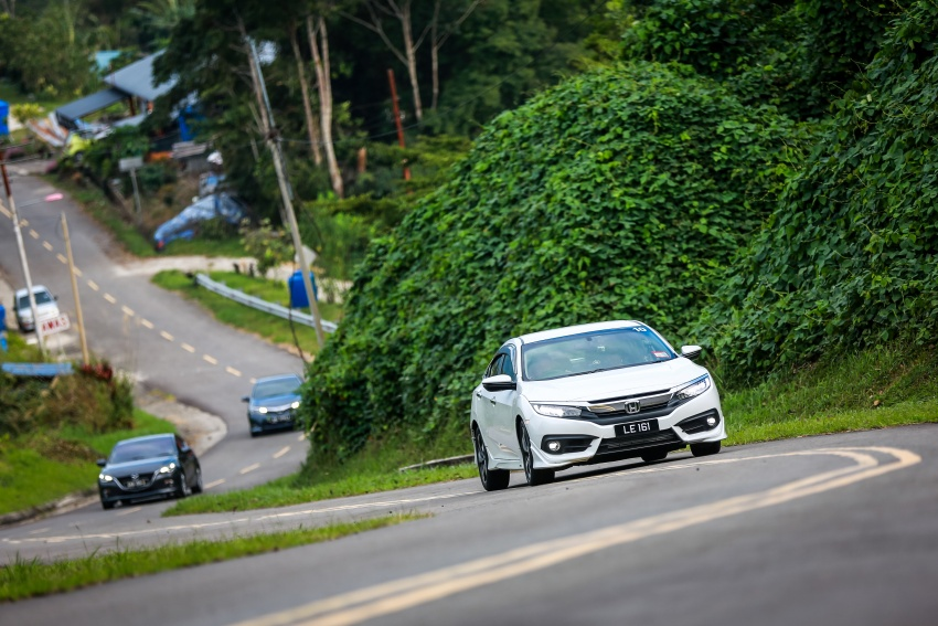 DRIVEN: 2016 Honda Civic 1.5L VTEC Turbo in Sabah – is the latest tenth-generation FC the best Civic ever? Image #546515