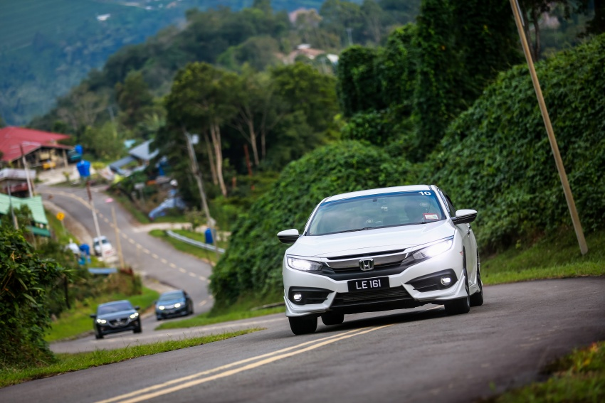 DRIVEN: 2016 Honda Civic 1.5L VTEC Turbo in Sabah – is the latest tenth-generation FC the best Civic ever? Image #546516