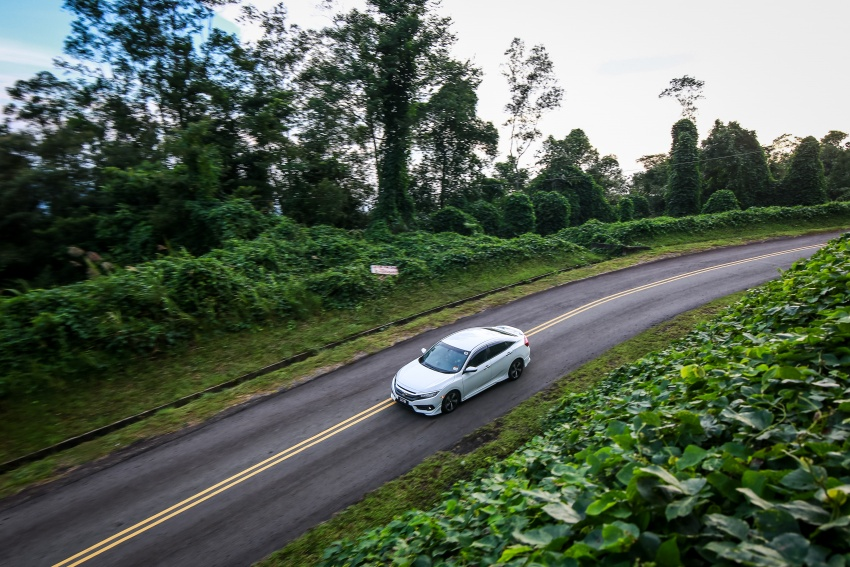 DRIVEN: 2016 Honda Civic 1.5L VTEC Turbo in Sabah – is the latest tenth-generation FC the best Civic ever? Image #546517