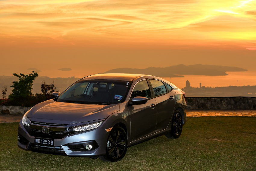 DRIVEN: 2016 Honda Civic 1.5L VTEC Turbo in Sabah – is the latest tenth-generation FC the best Civic ever? Image #546525