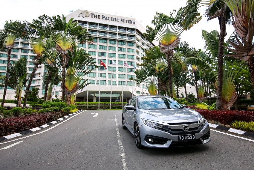 DRIVEN: 2016 Honda Civic 1.5L VTEC Turbo in Sabah – is the latest tenth-generation FC the best Civic ever? Image #546529