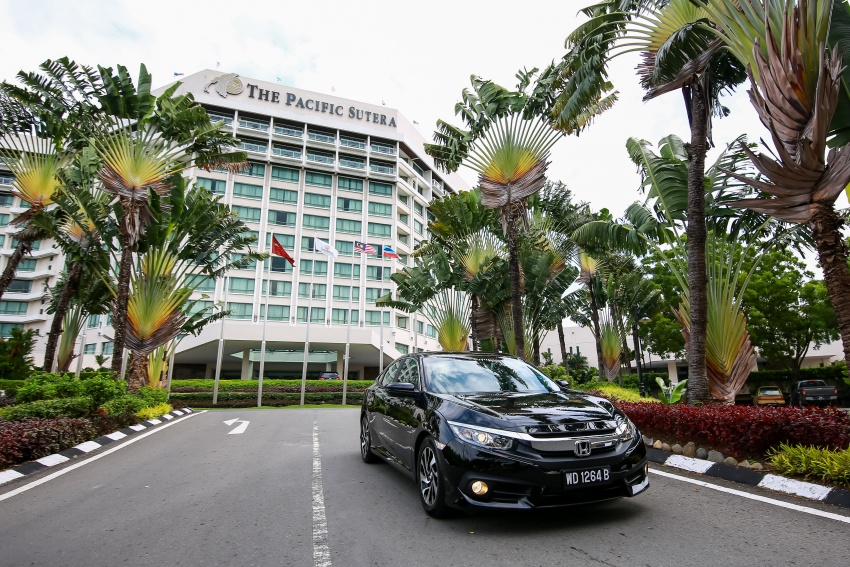 DRIVEN: 2016 Honda Civic 1.5L VTEC Turbo in Sabah – is the latest tenth-generation FC the best Civic ever? Image #546531