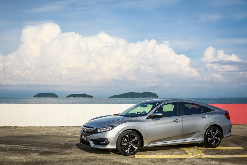 DRIVEN: 2016 Honda Civic 1.5L VTEC Turbo in Sabah – is the latest tenth-generation FC the best Civic ever? Image #546460
