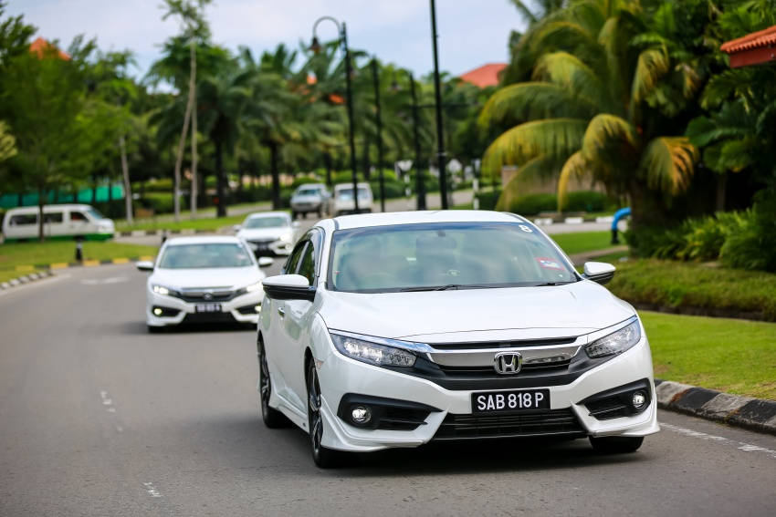 DRIVEN: 2016 Honda Civic 1.5L VTEC Turbo in Sabah – is the latest tenth-generation FC the best Civic ever? Image #546532