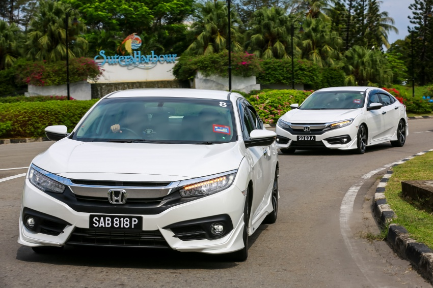 DRIVEN: 2016 Honda Civic 1.5L VTEC Turbo in Sabah – is the latest tenth-generation FC the best Civic ever? Image #546534