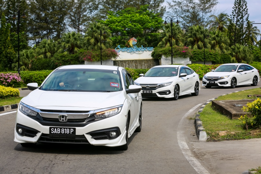 DRIVEN: 2016 Honda Civic 1.5L VTEC Turbo in Sabah – is the latest tenth-generation FC the best Civic ever? Image #546535
