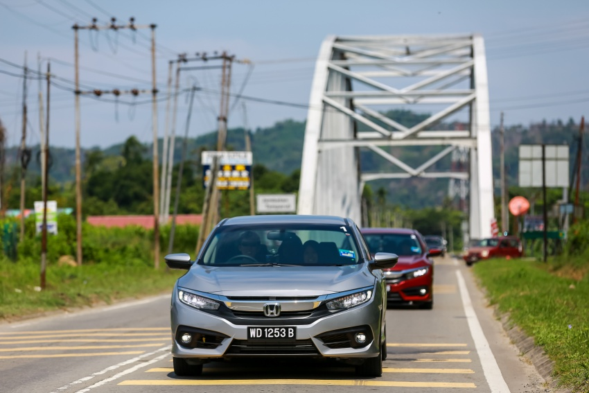 DRIVEN: 2016 Honda Civic 1.5L VTEC Turbo in Sabah – is the latest tenth-generation FC the best Civic ever? Image #546536