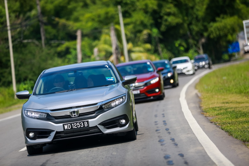 DRIVEN: 2016 Honda Civic 1.5L VTEC Turbo in Sabah – is the latest tenth-generation FC the best Civic ever? Image #546537