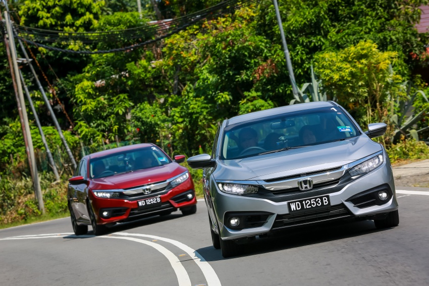 DRIVEN: 2016 Honda Civic 1.5L VTEC Turbo in Sabah – is the latest tenth-generation FC the best Civic ever? Image #546538