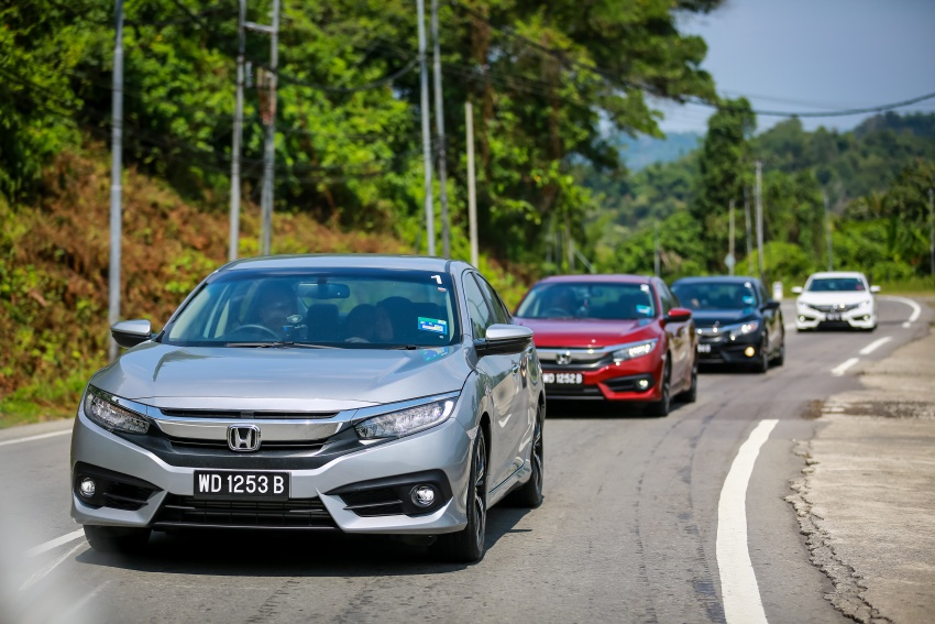 DRIVEN: 2016 Honda Civic 1.5L VTEC Turbo in Sabah – is the latest tenth-generation FC the best Civic ever? Image #546539