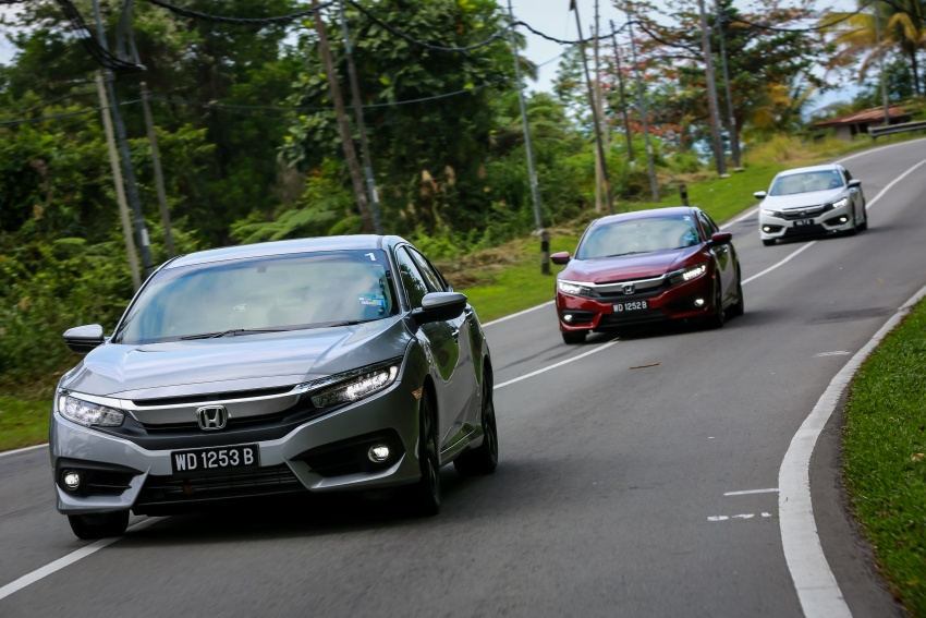 DRIVEN: 2016 Honda Civic 1.5L VTEC Turbo in Sabah – is the latest tenth-generation FC the best Civic ever? Image #546541