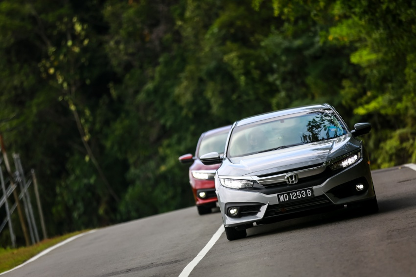 DRIVEN: 2016 Honda Civic 1.5L VTEC Turbo in Sabah – is the latest tenth-generation FC the best Civic ever? Image #546542