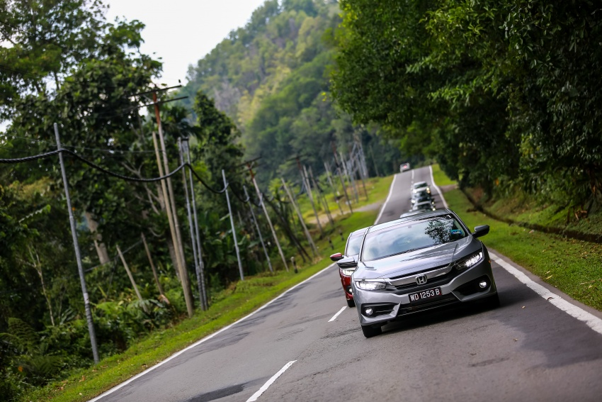 DRIVEN: 2016 Honda Civic 1.5L VTEC Turbo in Sabah – is the latest tenth-generation FC the best Civic ever? Image #546544