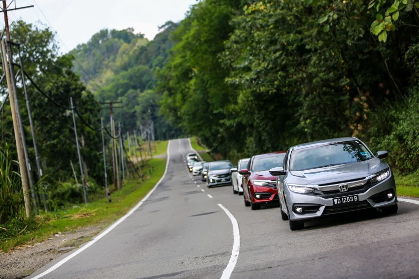 DRIVEN: 2016 Honda Civic 1.5L VTEC Turbo in Sabah – is the latest tenth-generation FC the best Civic ever? Image #546545