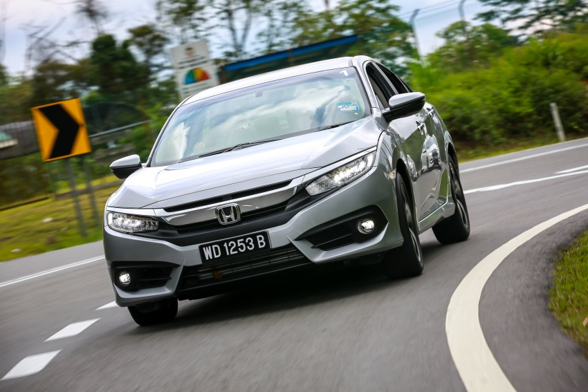 DRIVEN: 2016 Honda Civic 1.5L VTEC Turbo in Sabah – is the latest tenth-generation FC the best Civic ever? Image #546550