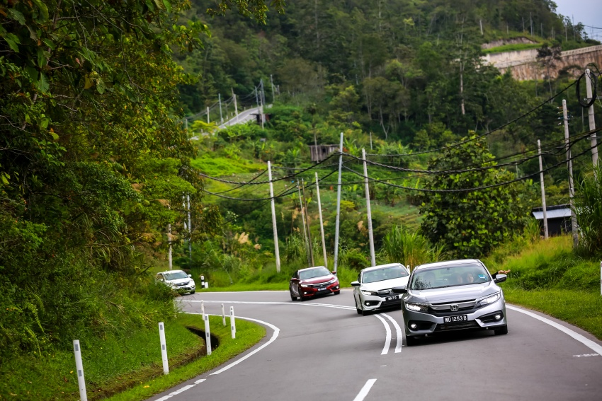 DRIVEN: 2016 Honda Civic 1.5L VTEC Turbo in Sabah – is the latest tenth-generation FC the best Civic ever? Image #546551