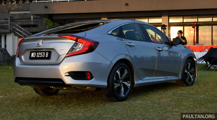 DRIVEN: 2016 Honda Civic 1.5L VTEC Turbo in Sabah – is the latest tenth-generation FC the best Civic ever? Image #546407