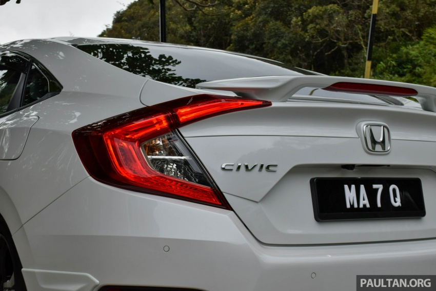 DRIVEN: 2016 Honda Civic 1.5L VTEC Turbo in Sabah – is the latest tenth-generation FC the best Civic ever? Image #546413