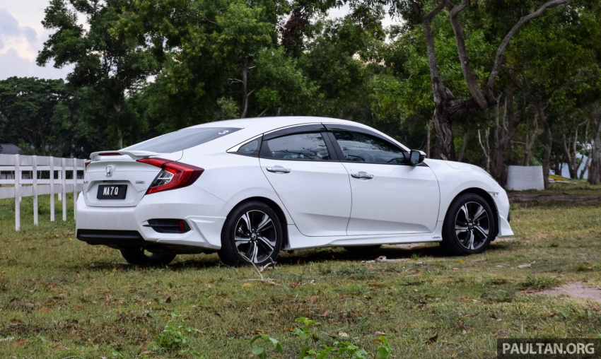 DRIVEN: 2016 Honda Civic 1.5L VTEC Turbo in Sabah – is the latest tenth-generation FC the best Civic ever? Image #546422